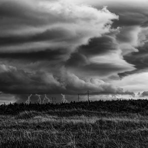 Hauntingly beautiful - Spooky storm clouds over Newfoundland