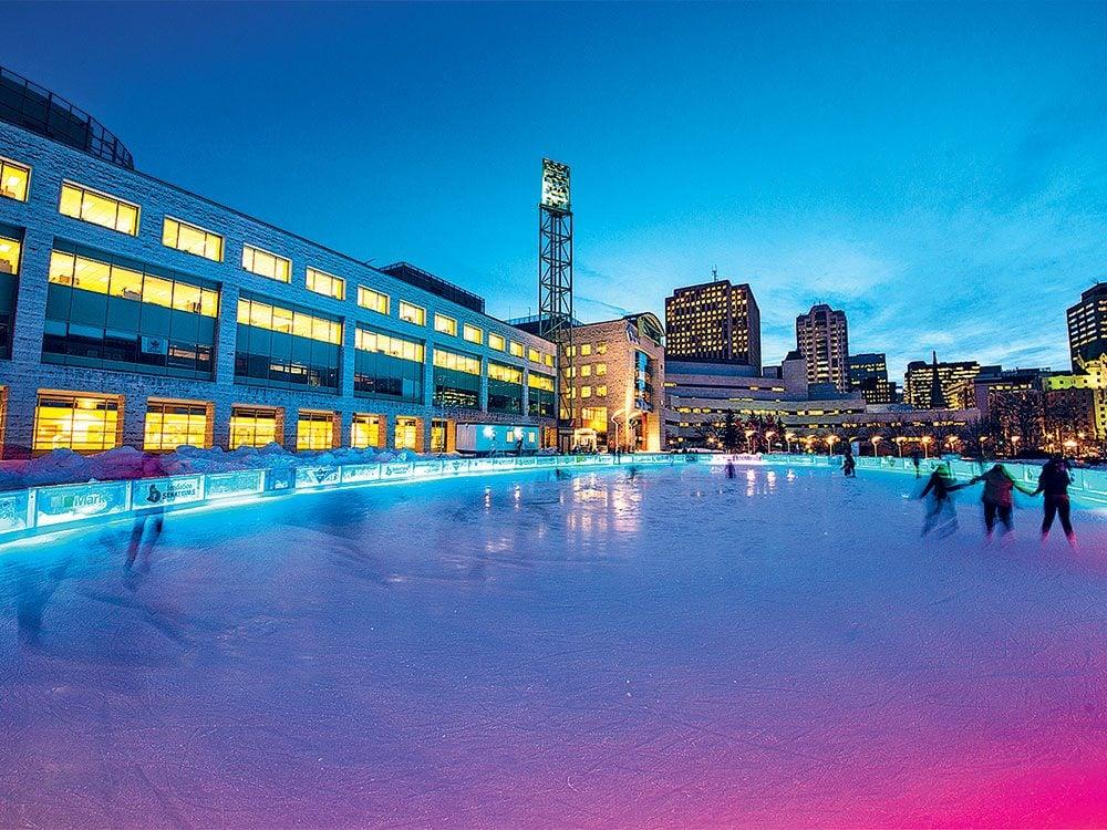 Skating the Rink of Dreams