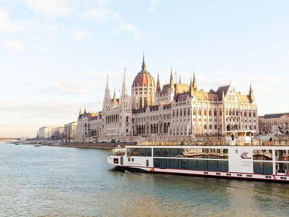 River boat on the Danube