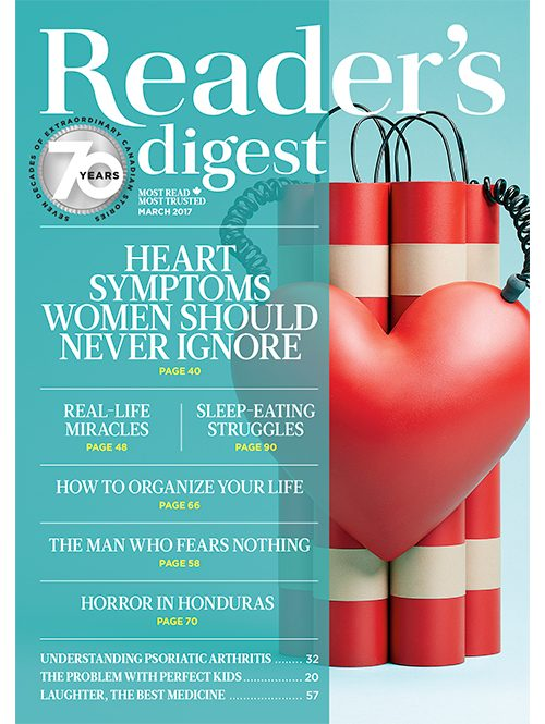 March 2017 issue of Reader's Digest Canada