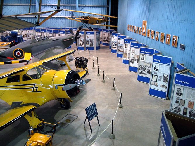 Aviation Hall of Fame exhibits