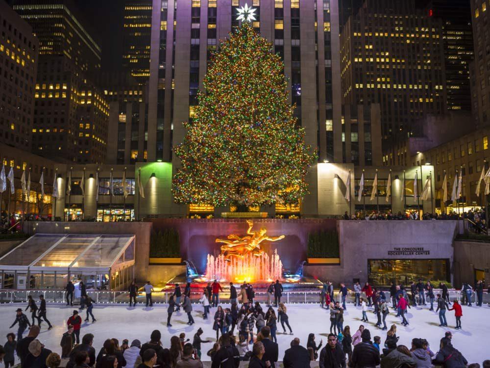 best christmas cities new york city us