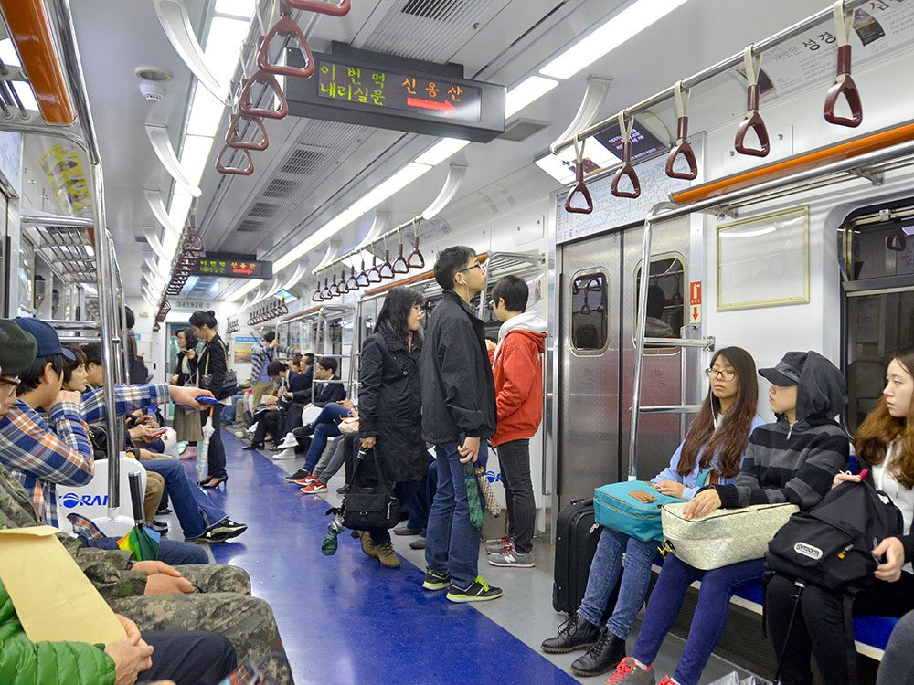 Seoul public transit system