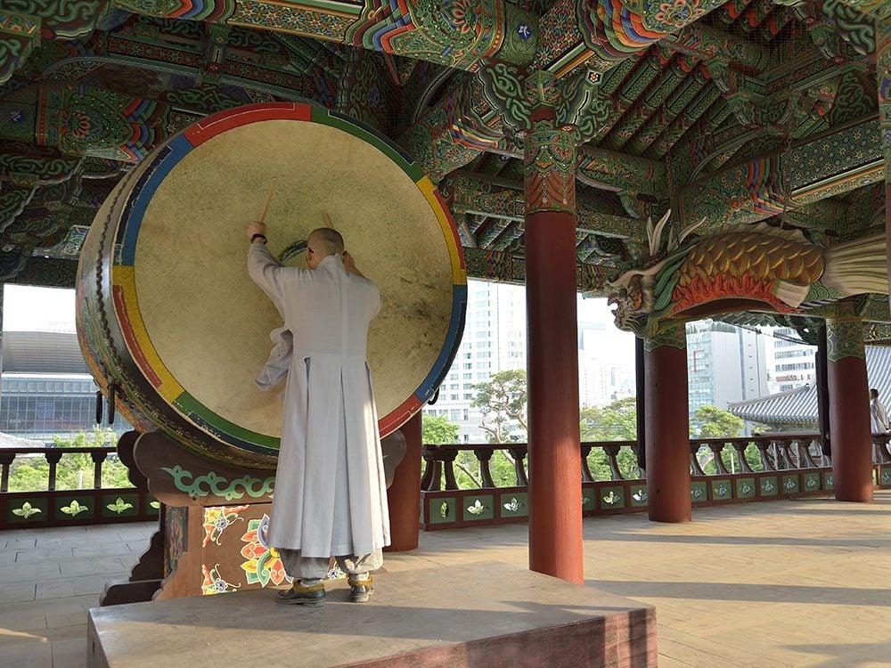 Bongeunsa Buddhist Temple, Seoul