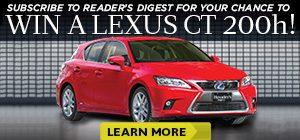 Win a Lexus CT 200h!