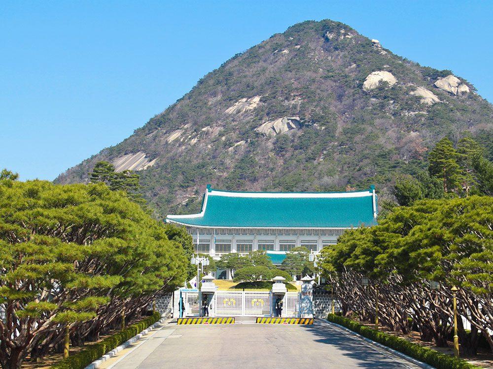 Cheong Wa Dae (Blue House), Seoul