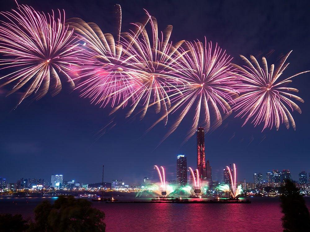 Fireworks Festival, Yeouido Hangang Park, Seoul