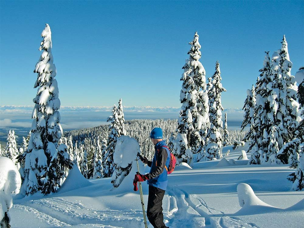 Snowshoeing is one of Canada's most popular winter activities