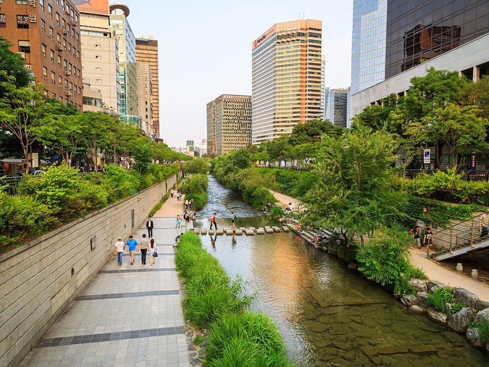 Cheonggyecheon Stream, Seoul