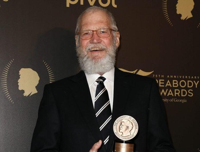 Comedian David Letterman