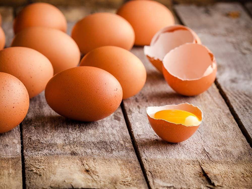 Homemade face mask - Egg