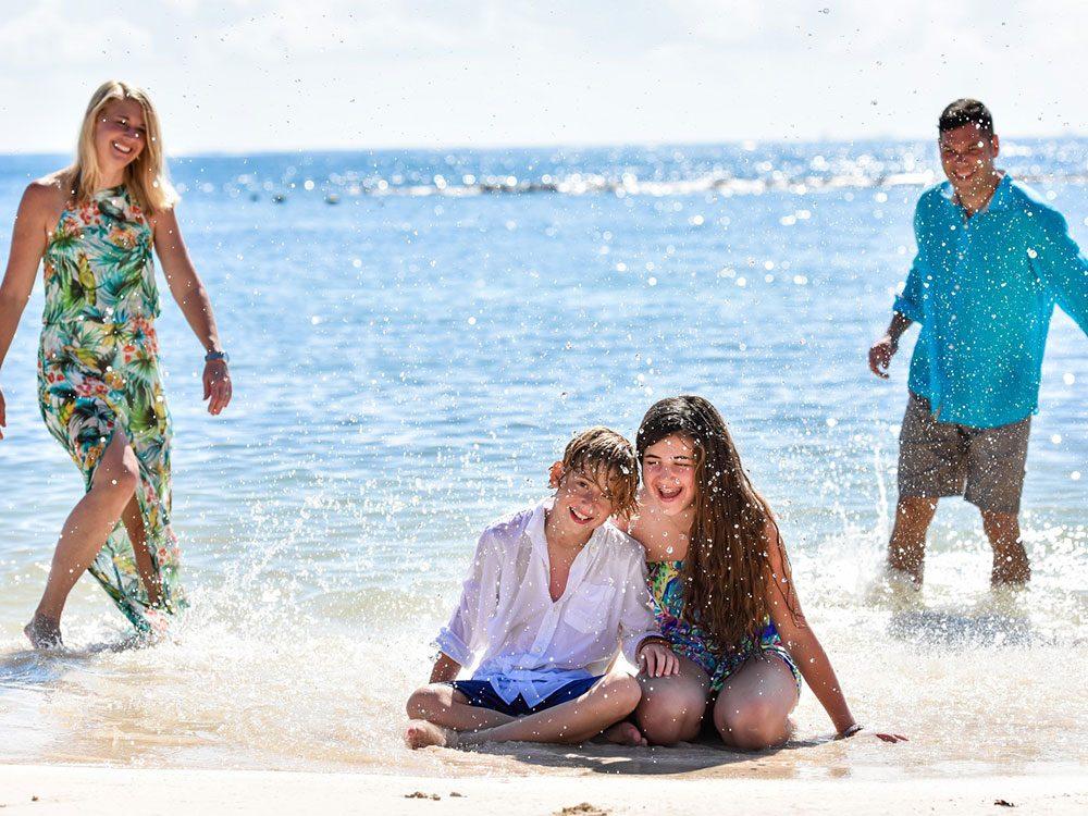 Family at Grand Velas Riviera Maya
