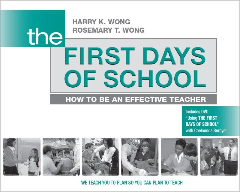 Cover of The First Days of School