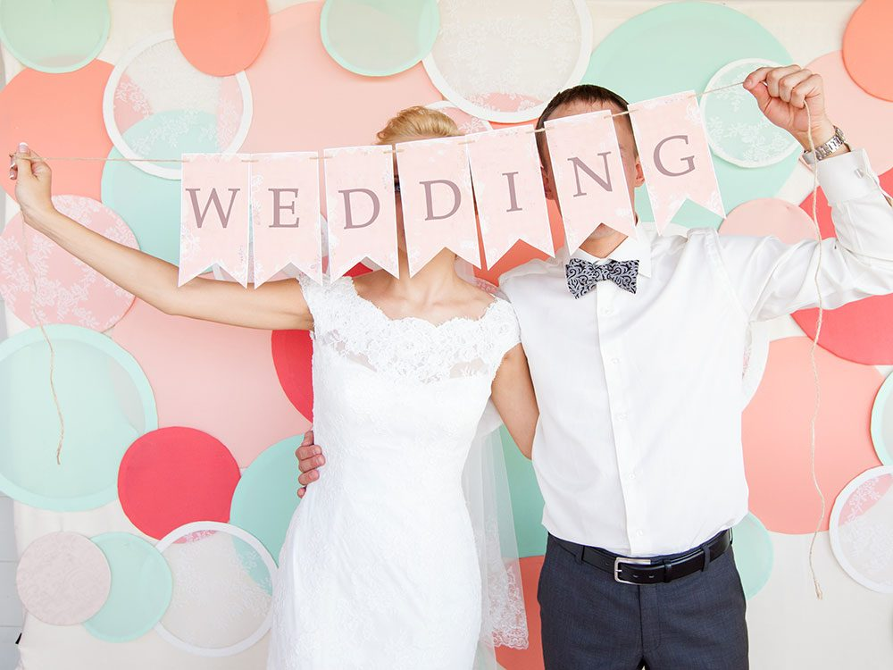Jokes about marriage that are perfect for a wedding