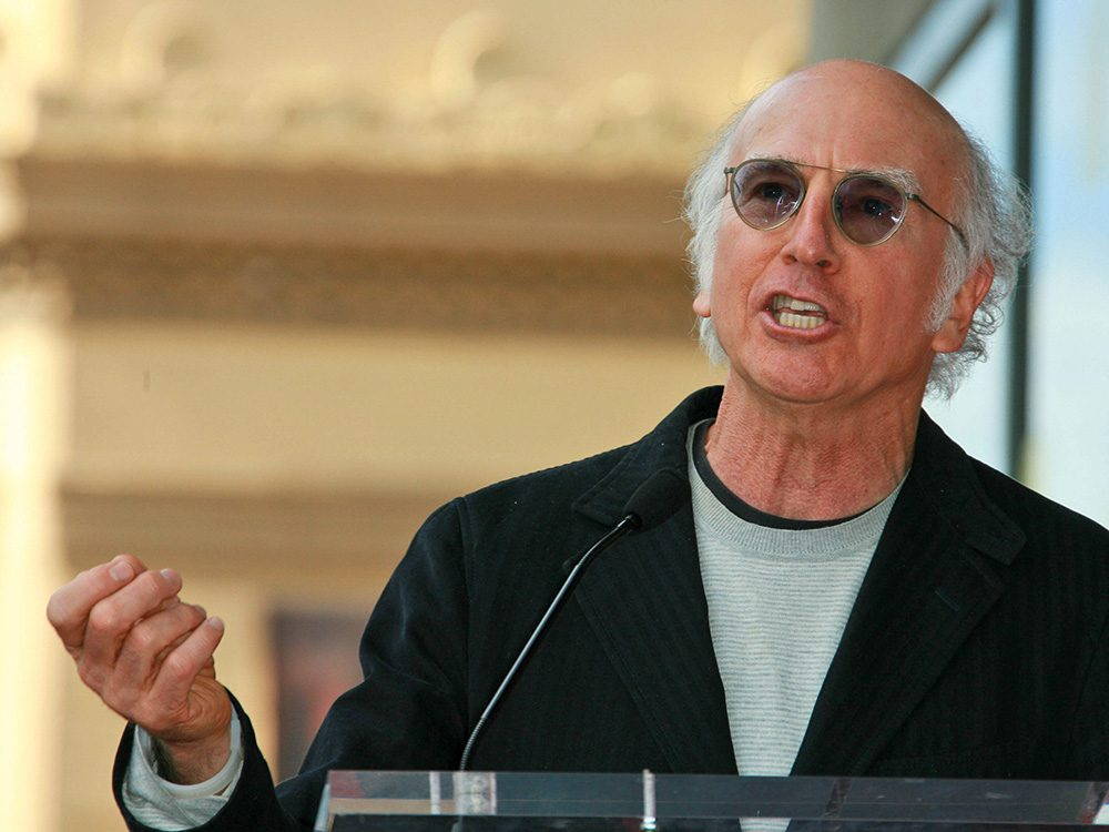 Comedian Larry David