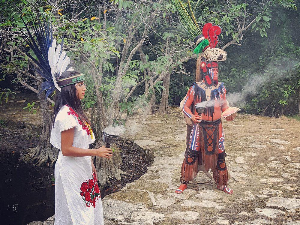 Mayan soul cleansing ritual
