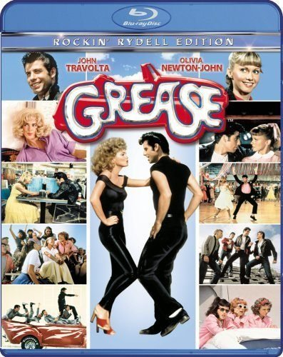 Blu ray cover of Grease