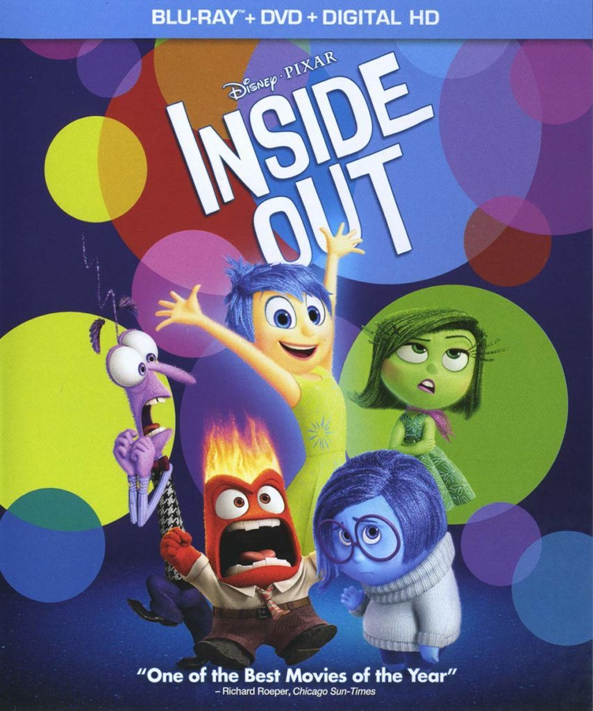 Blu ray cover of Inside Out