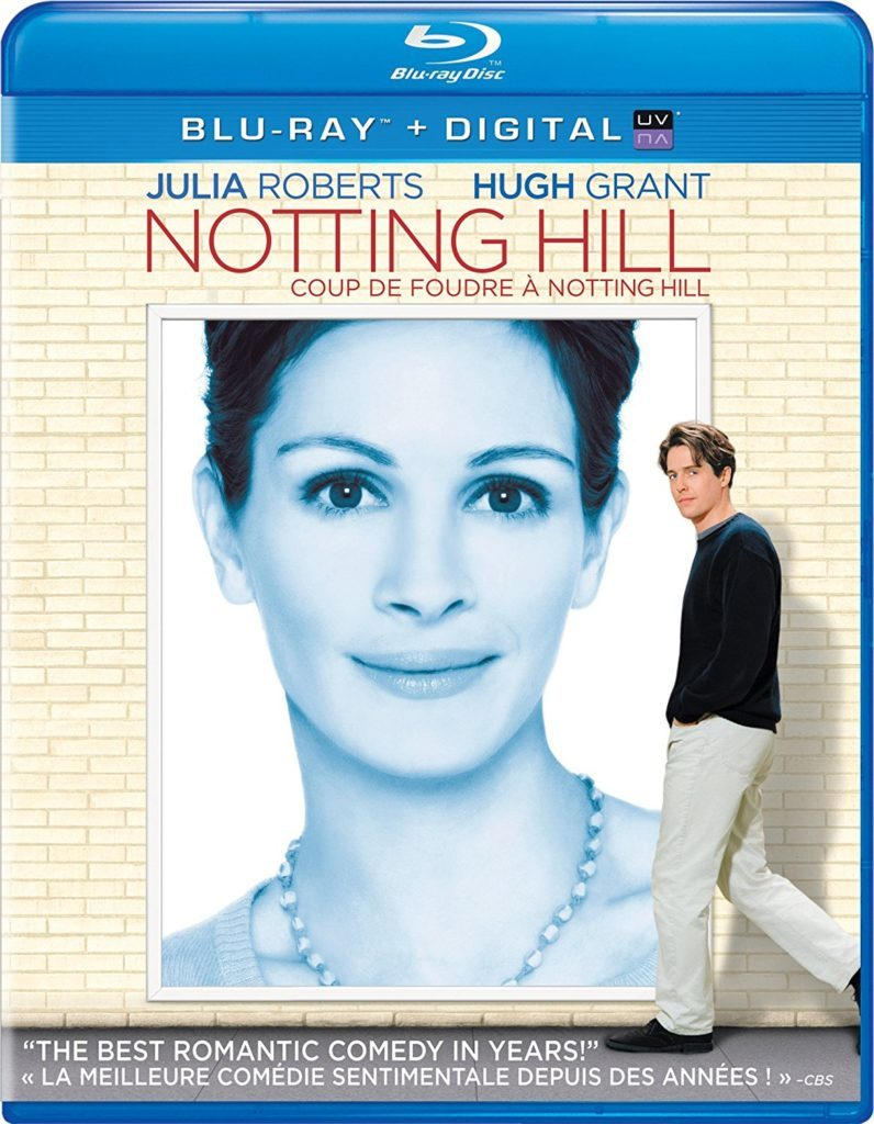 Blu ray cover of Notting Hill