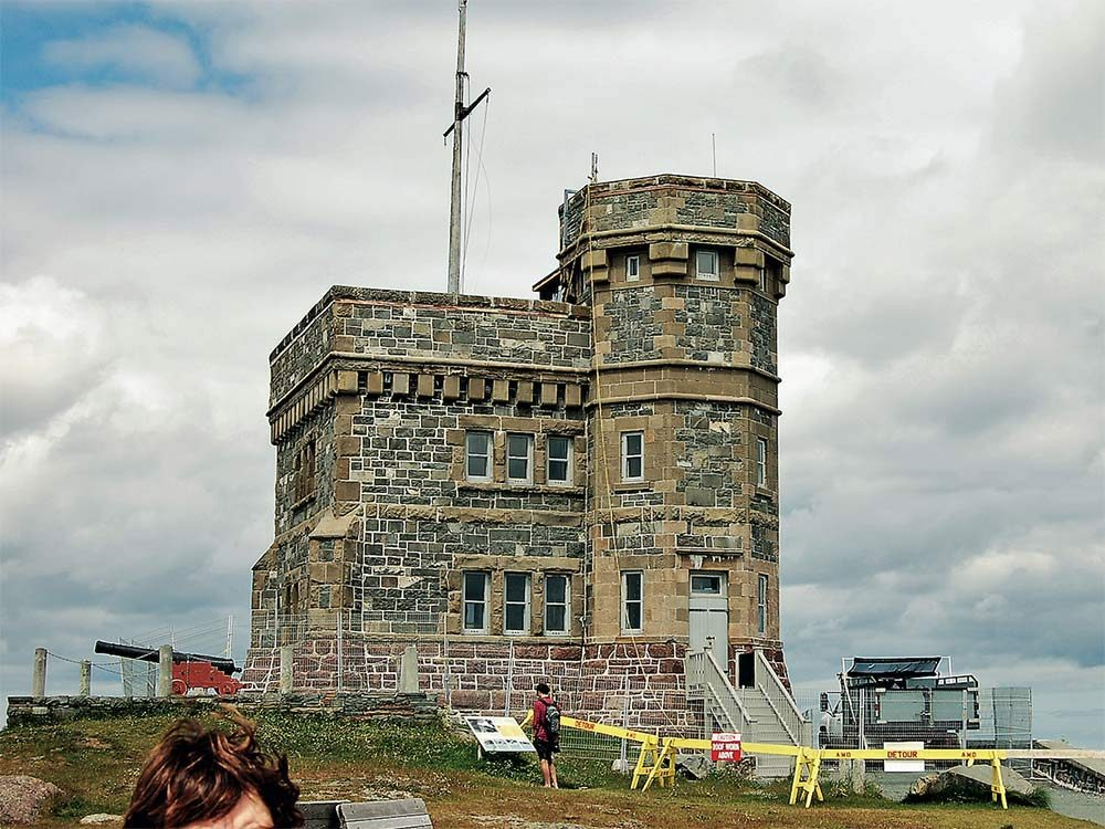 Signal Hill castle in Newfoundland