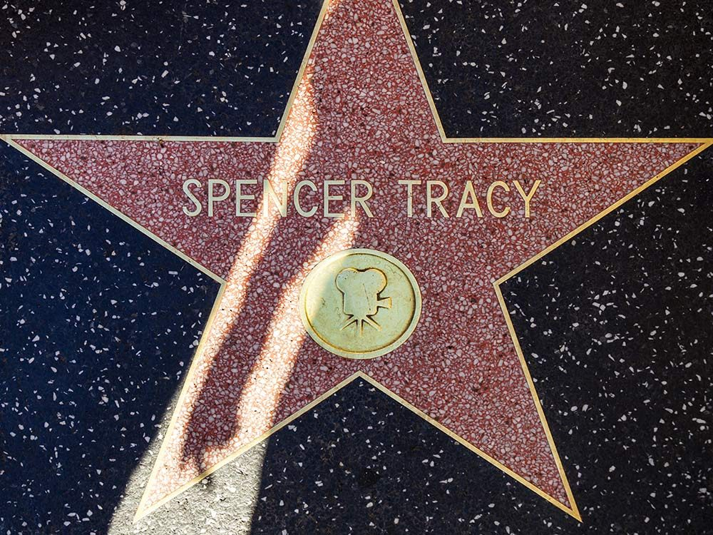 Spencer Tracy Hollywood Walk of Fame