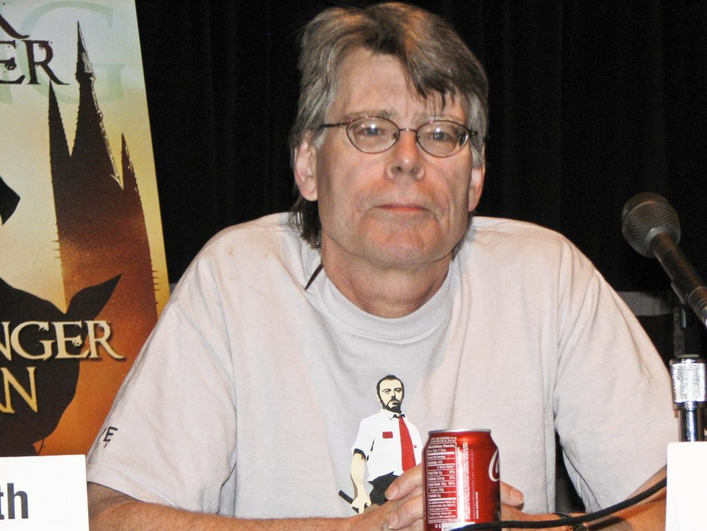Horror novelist Stephen King