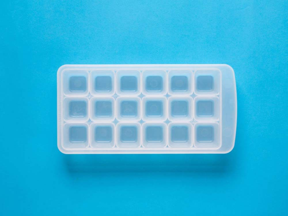 Mold for ice cubes