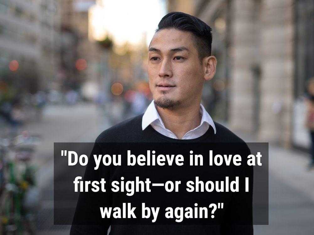 Handsome Asian man