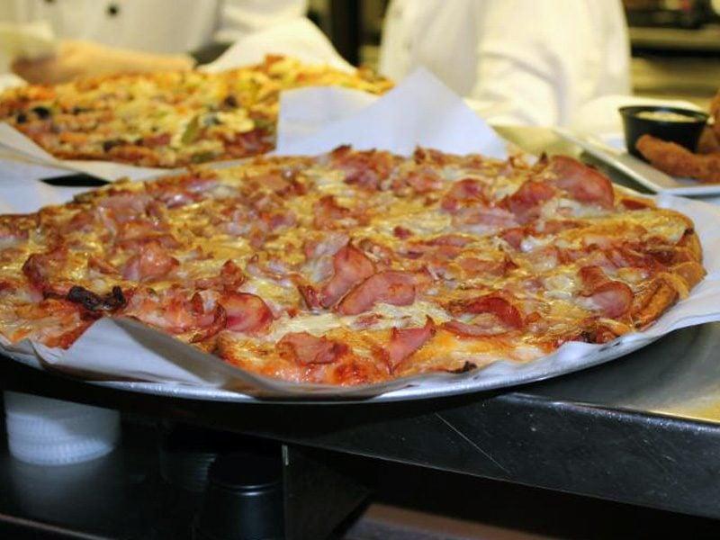 Pizza at Winnipeg's DJay's Restaurant