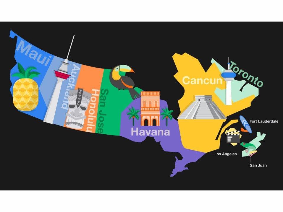 Canada's top March Break travel destinations