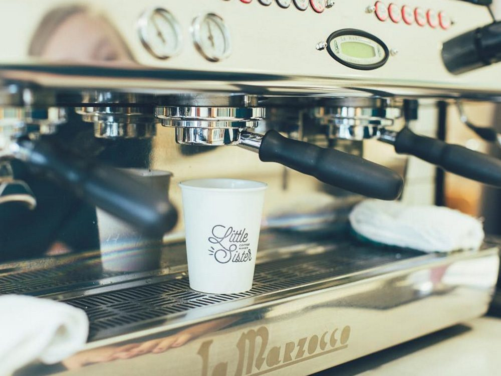 Little Sister Coffee Maker, Winnipeg