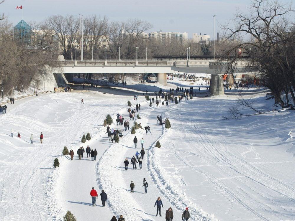 Red River Mutual Trail in Winnipeg