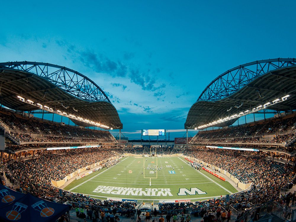 Winnipeg Blue Bombers football