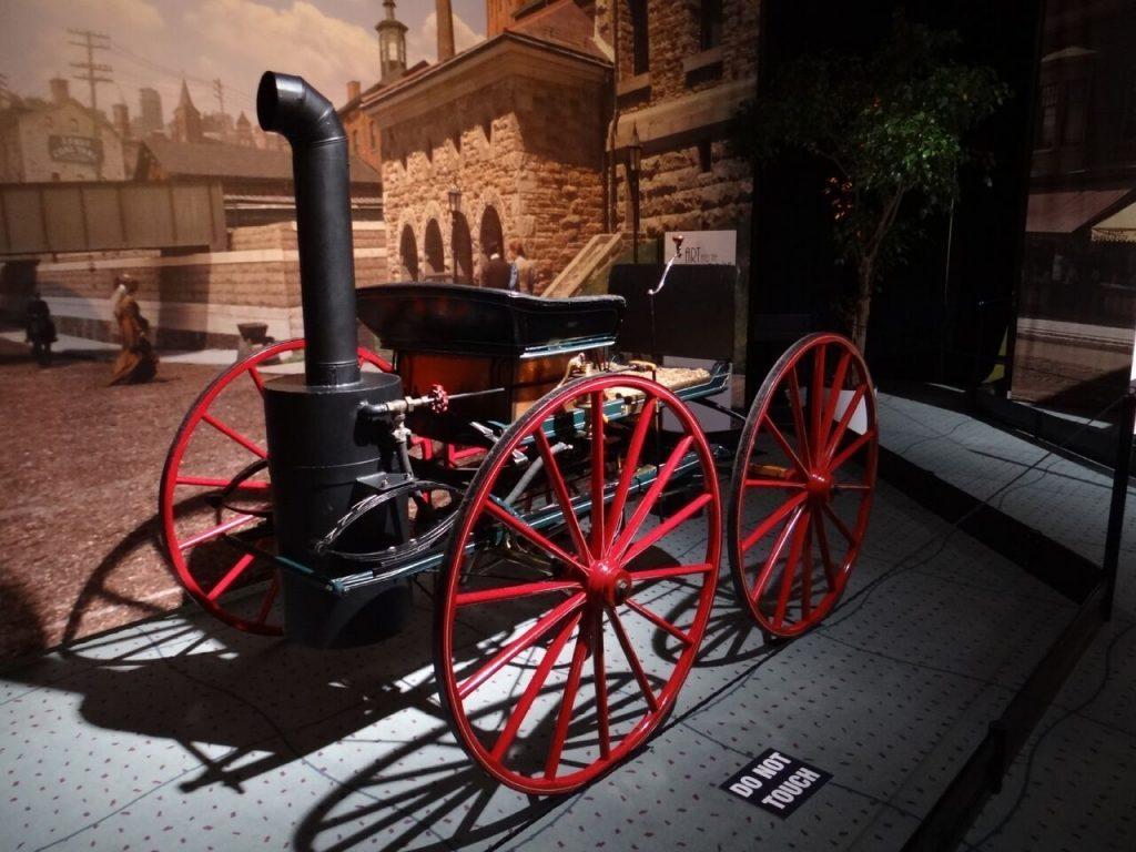 1867 Seth Taylor Steam Buggy