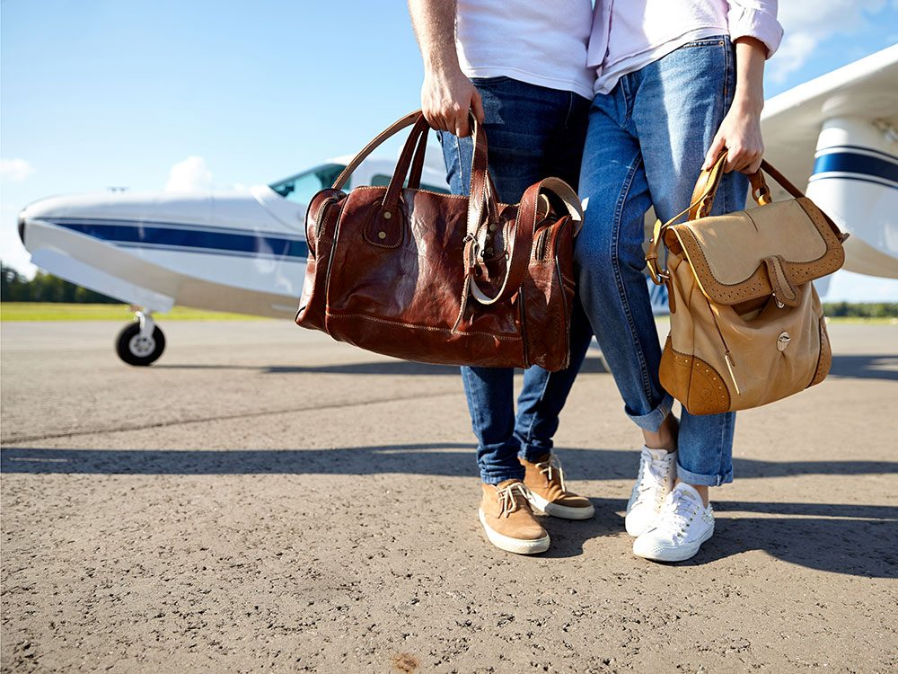 What to do with your carry-on bags during a plane crash