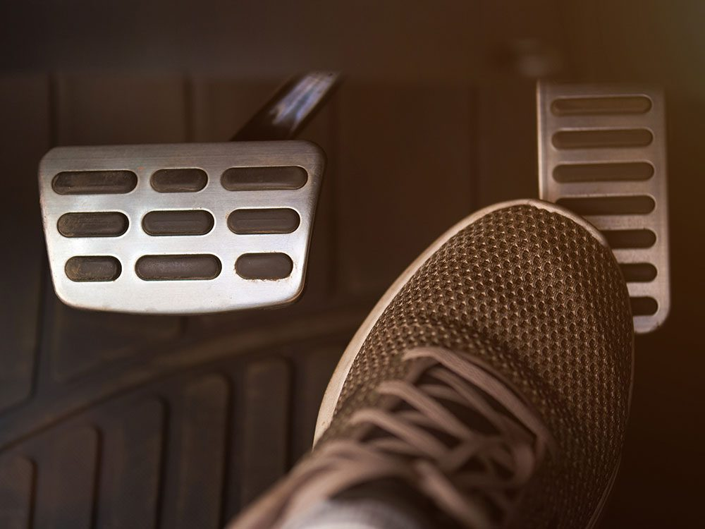 Funniest lawyer jokes - foot on gas pedal