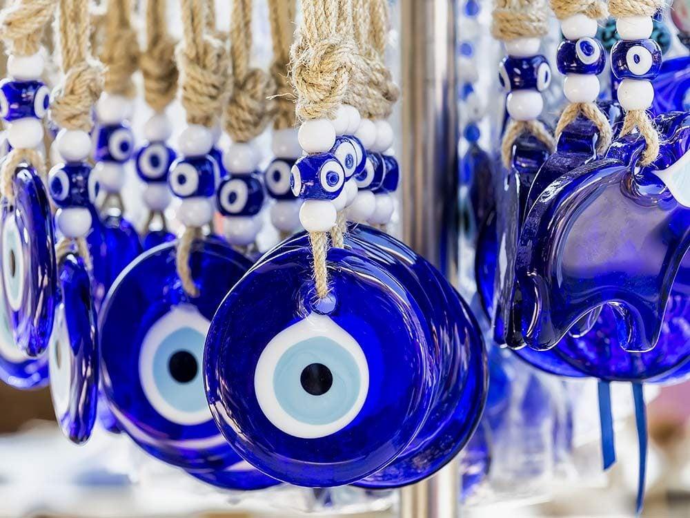 Blue Turkish amulet
