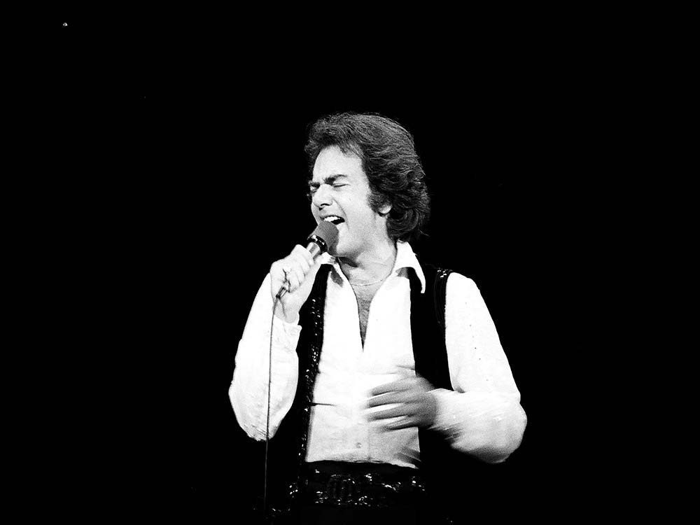 Neil Diamond in 1976