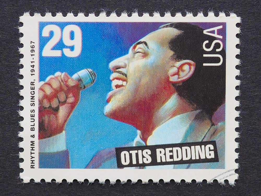 Stamp of Otis Redding