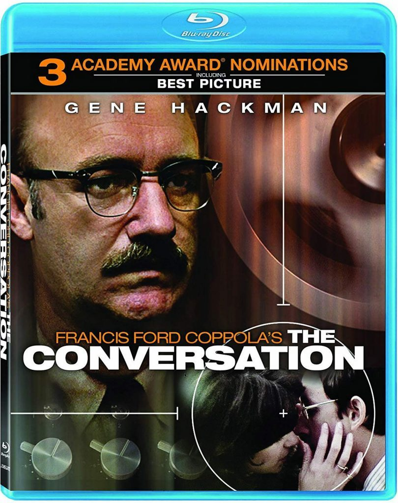 Blu ray cover of The Conversation