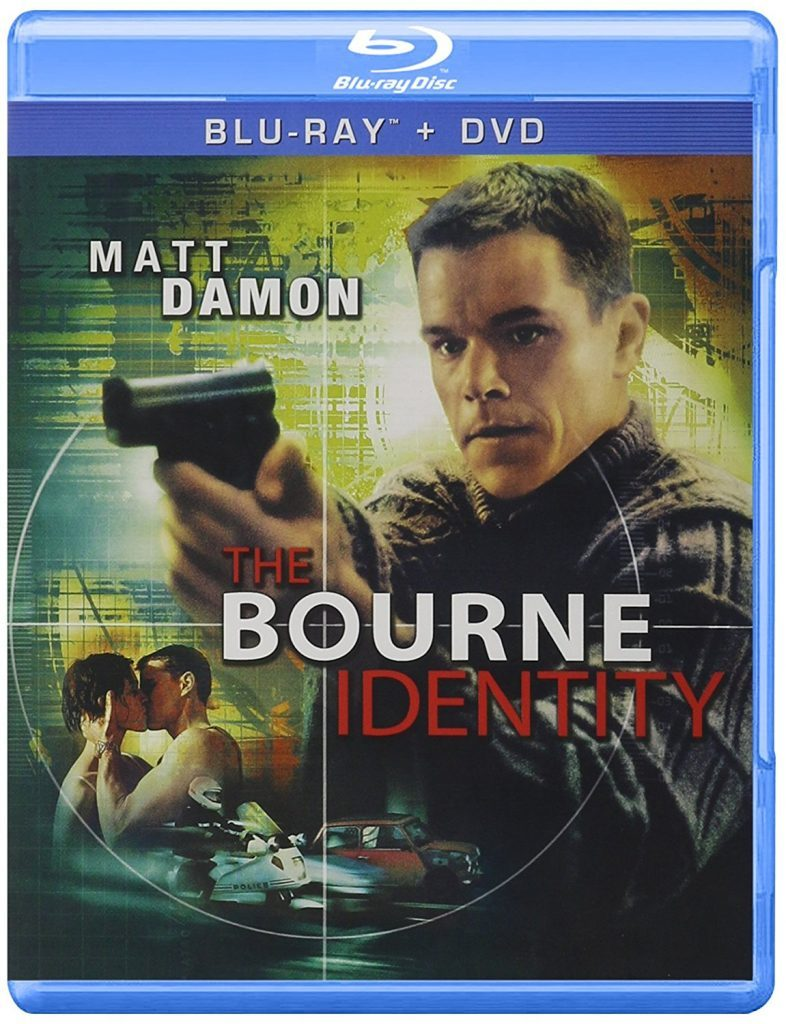 Blu ray cover of The Bourne Identity