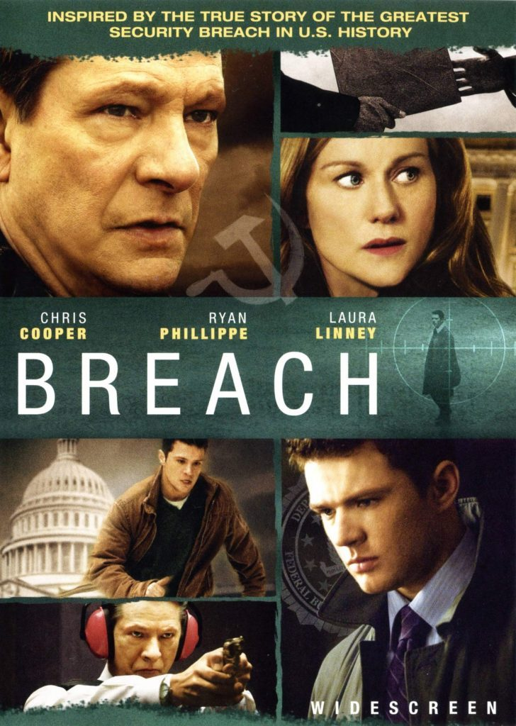 DVD cover of Breach