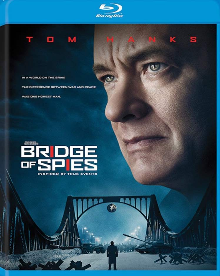 Blu ray cover of Bridge of Spies