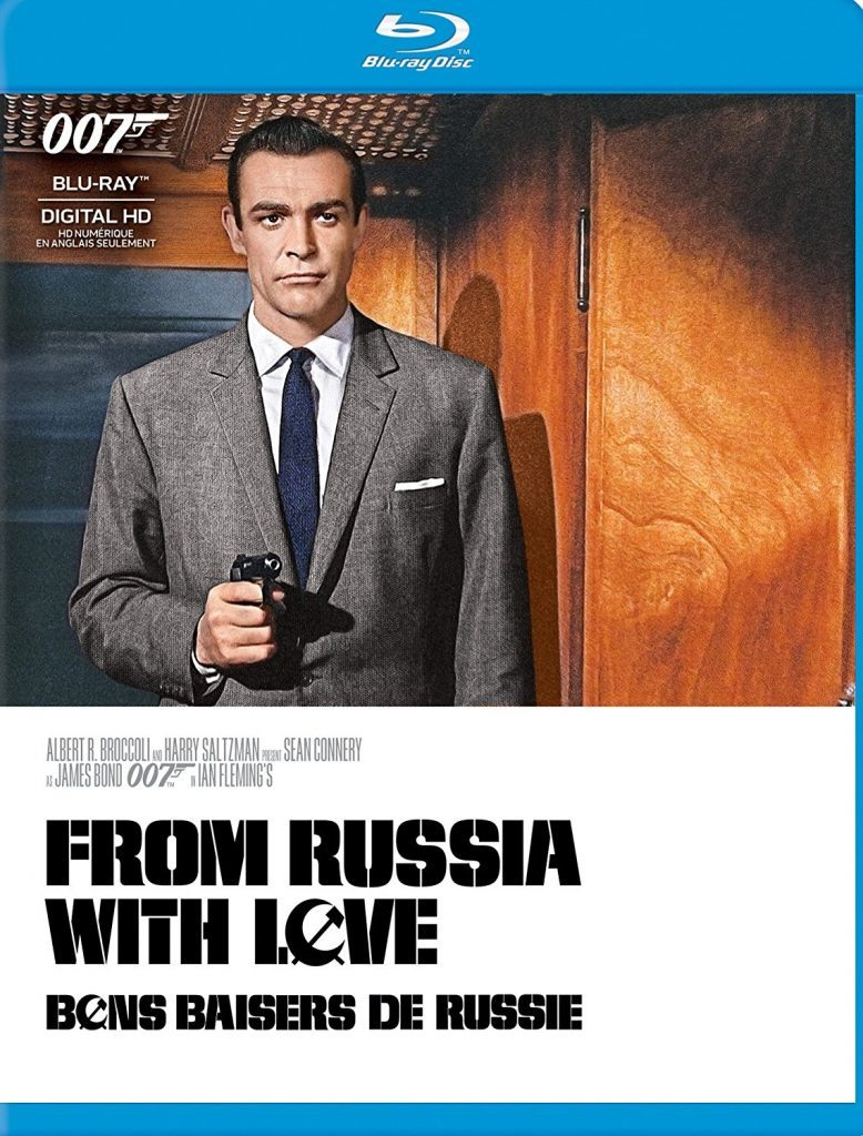 Blu ray cover of From Russia with Love