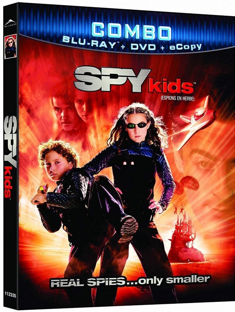 Blu ray cover of Spy Kids