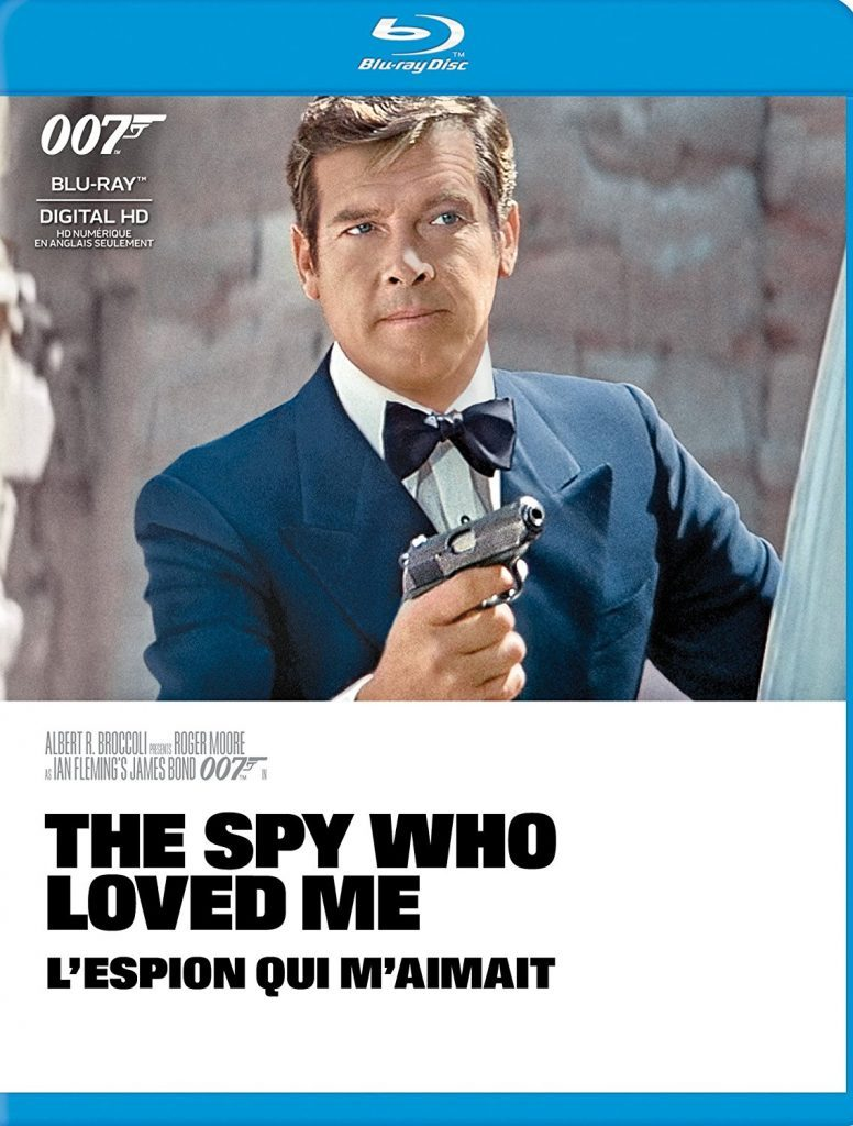 Blu ray cover of The Spy Who Loved Me