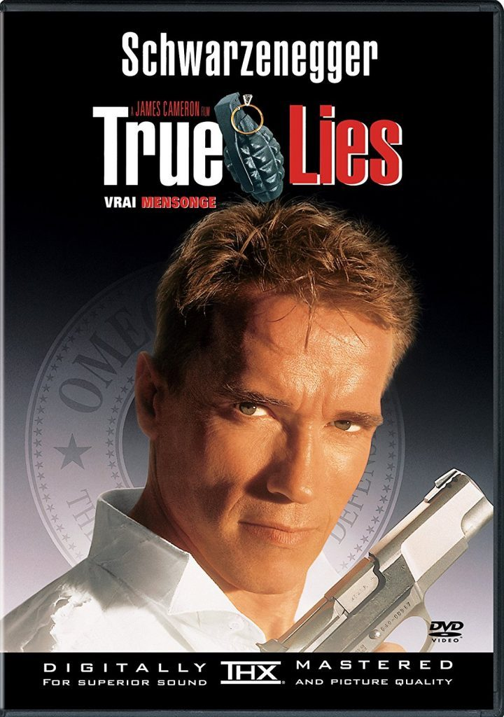 DVD cover of True Lies