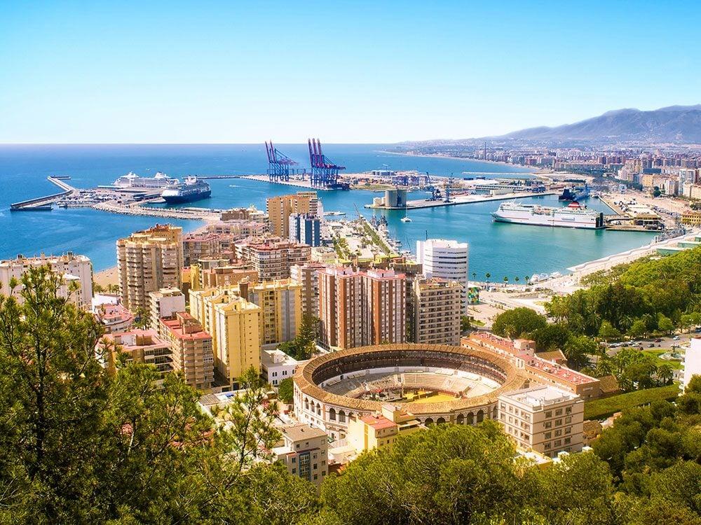 Malaga, Spain, March Break travel for Canadians