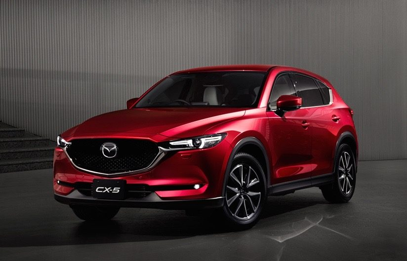 Mazda CX-5 at the Canadian International AutoShow
