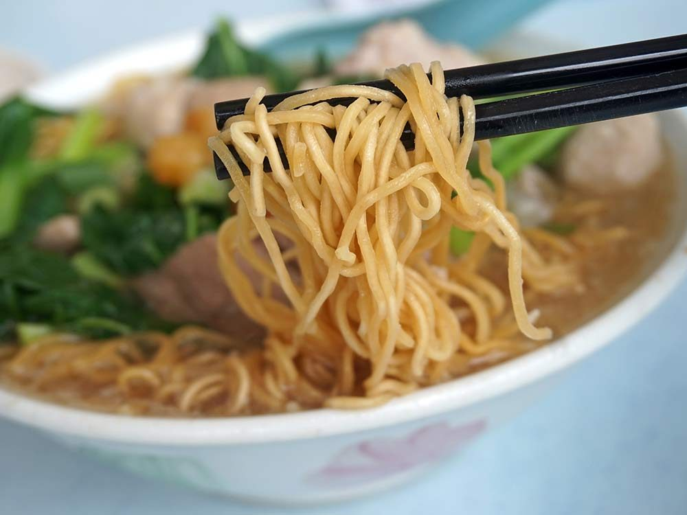 Chinese-style noodle soup